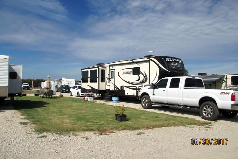 Mustang RV Park located in Aubrey/Pilot Point Texas